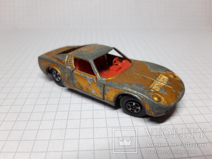 Matchbox Lamborghini Miura. Made in England, фото №4