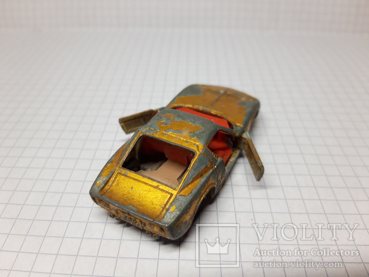 Matchbox Lamborghini Miura. Made in England, фото №6