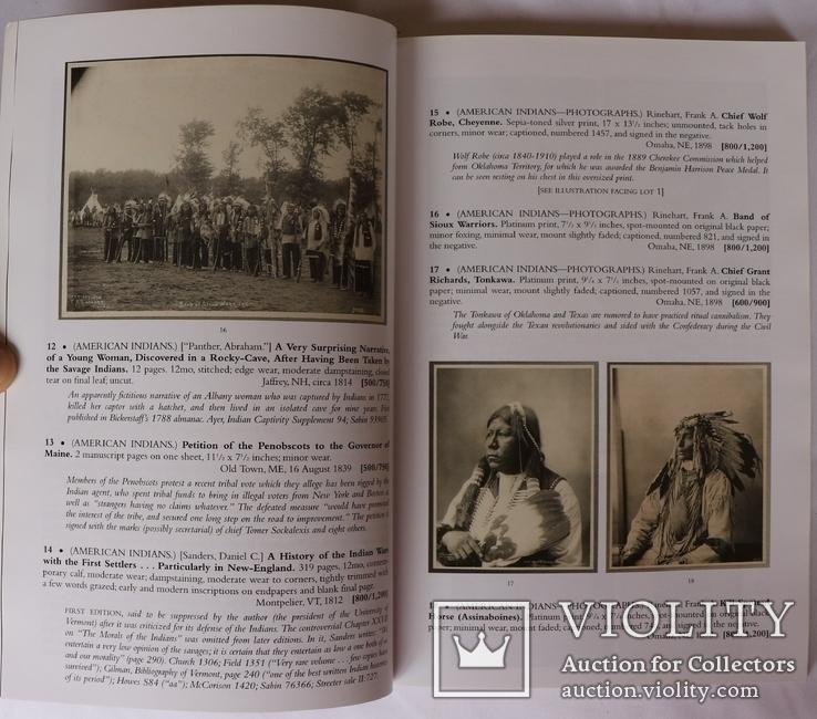 """Swann. Printed and Manuscript Americana"" (2015). Каталог аукціону, фото №5"