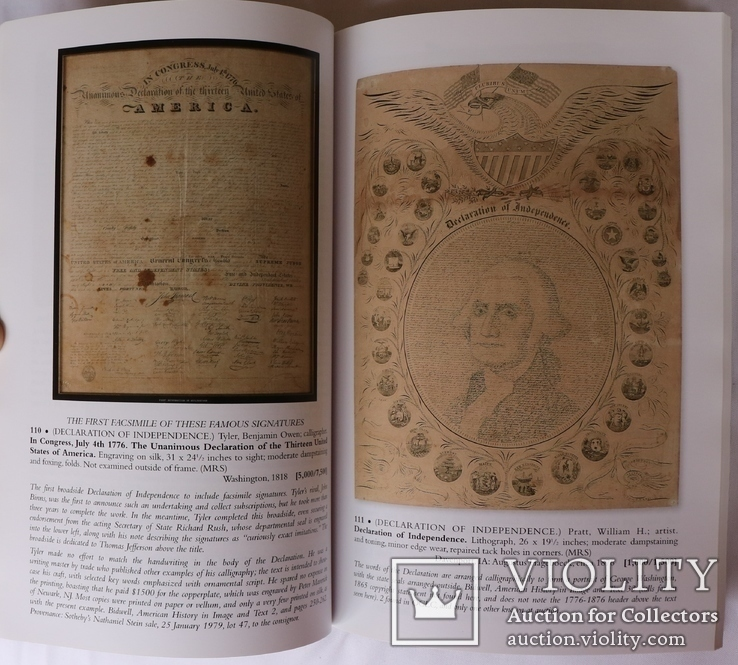 """Swann. Printed and Manuscript Americana"" (2015). Каталог аукціону, фото №7"