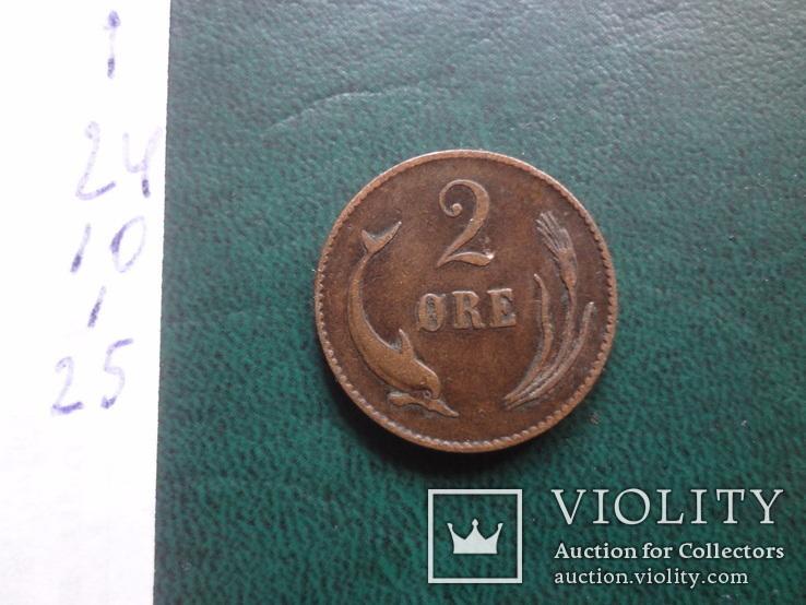 2 эре 1874    Дания    (,10.1.25)~, фото №4