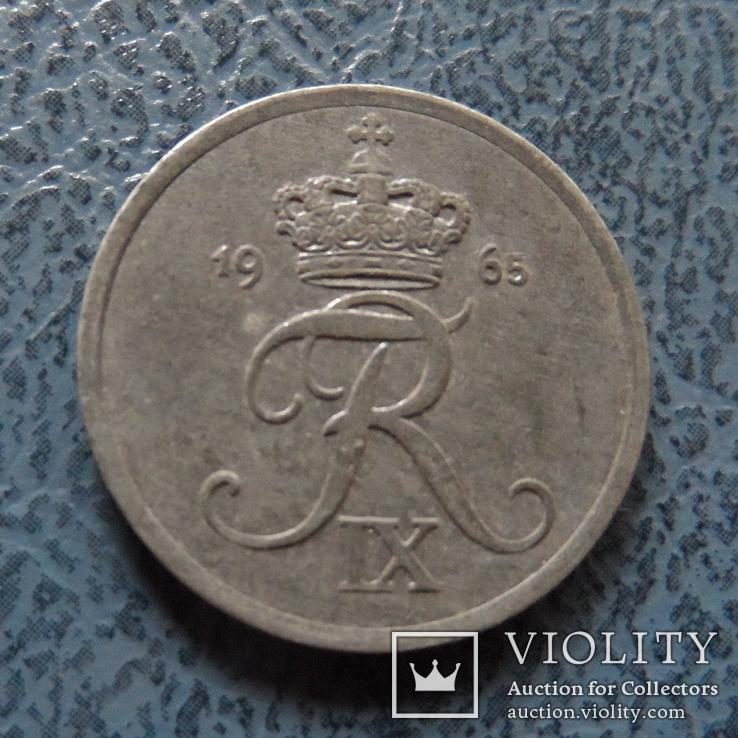 2 эре 1965   Дания    ($2.1.8) ~, фото №2