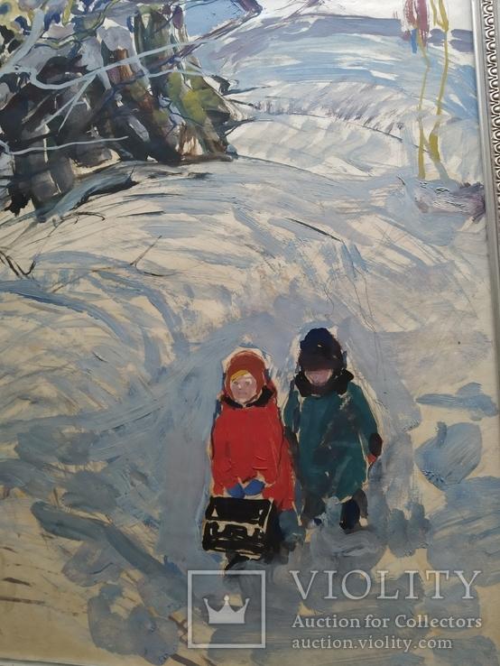 """""""Дети' к.м. 1970 г. Михаил Кошель, фото №4"""