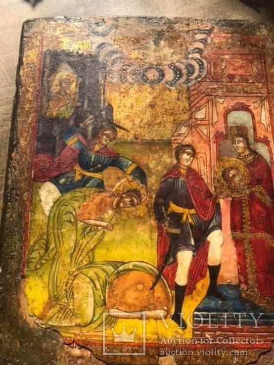 Старовірський образ Главосіки Івана Хрестителя, фото №2