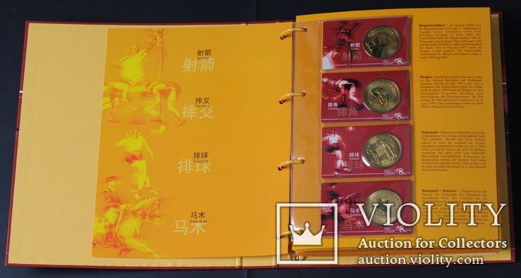 10 Юань 2008 Полный Набор Олимпиада 40шт., Китай UNC, фото №4