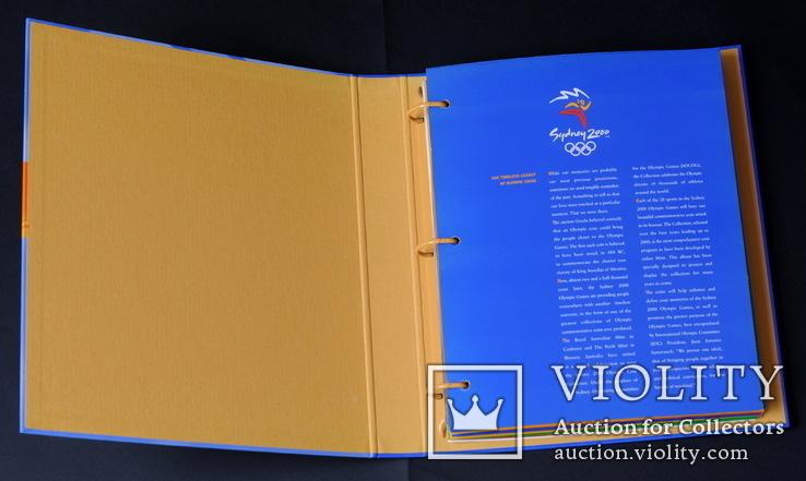 Набор 5 Долларов 2000 Олимпиада 28 Штук, Австралия, фото №2