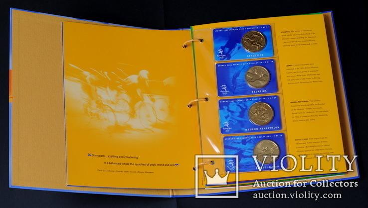 Набор 5 Долларов 2000 Олимпиада 28 Штук, Австралия, фото №5