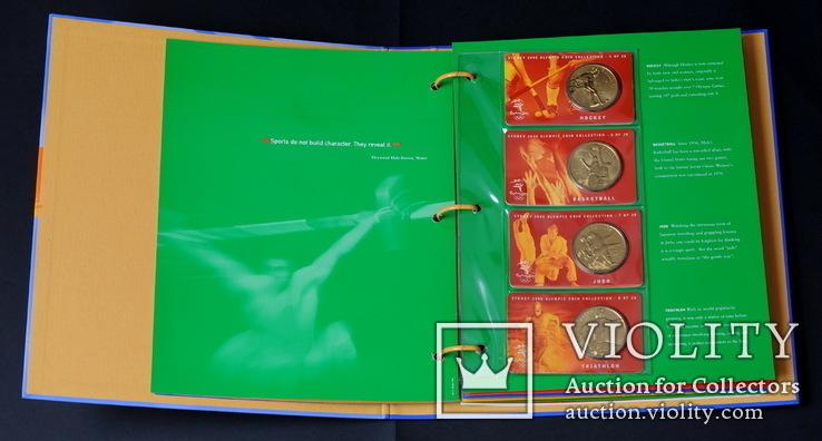 Набор 5 Долларов 2000 Олимпиада 28 Штук, Австралия, фото №6