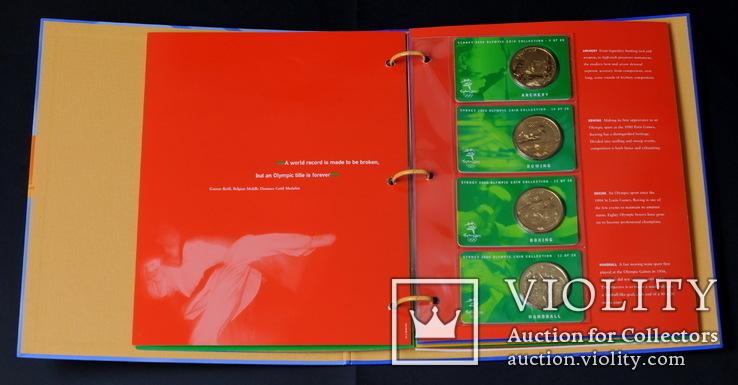 Набор 5 Долларов 2000 Олимпиада 28 Штук, Австралия, фото №7
