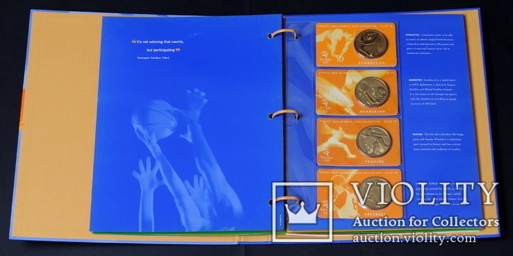 Набор 5 Долларов 2000 Олимпиада 28 Штук, Австралия, фото №8