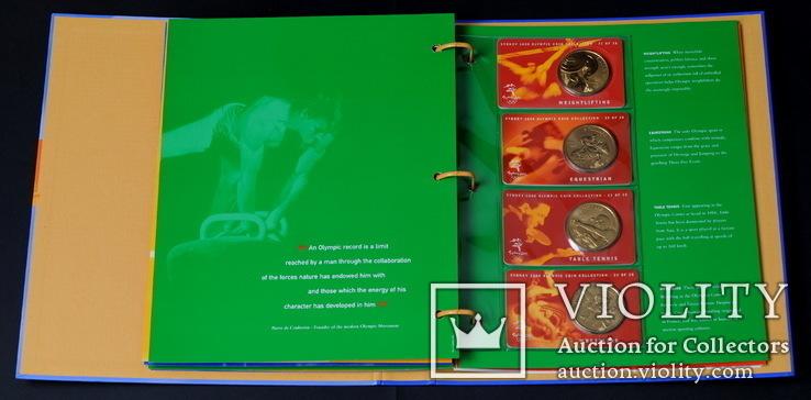 Набор 5 Долларов 2000 Олимпиада 28 Штук, Австралия, фото №10