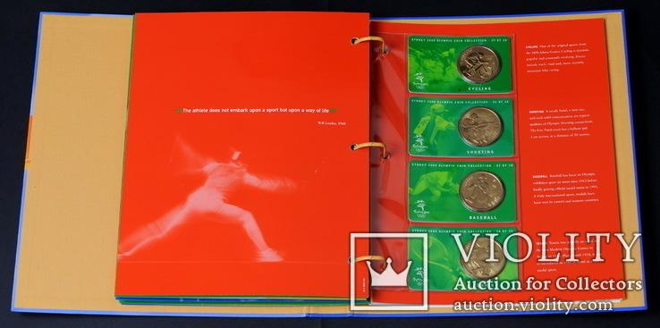 Набор 5 Долларов 2000 Олимпиада 28 Штук, Австралия, фото №11