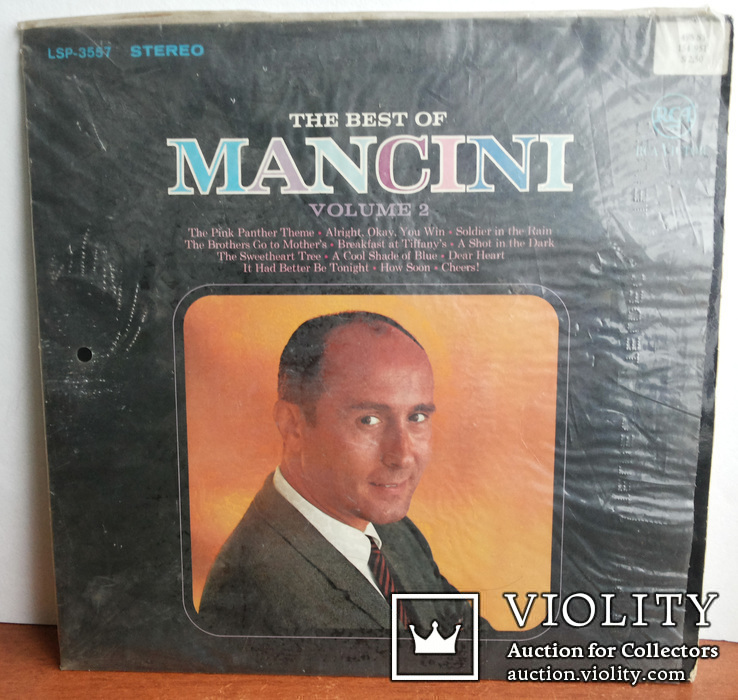 The Best Of Mancini Vol.2 (LSP) RGA Victor Германия 1966, фото №2