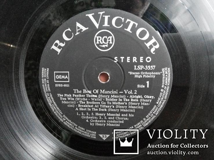The Best Of Mancini Vol.2 (LSP) RGA Victor Германия 1966, фото №4
