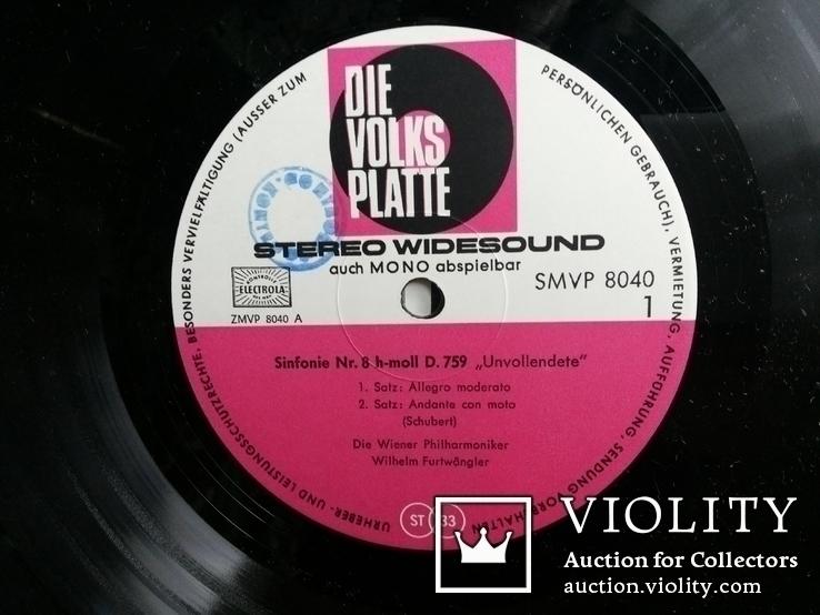 Yehudi Menuhin Violine amp; Berlin Philirmony orchestr 1968, фото №5