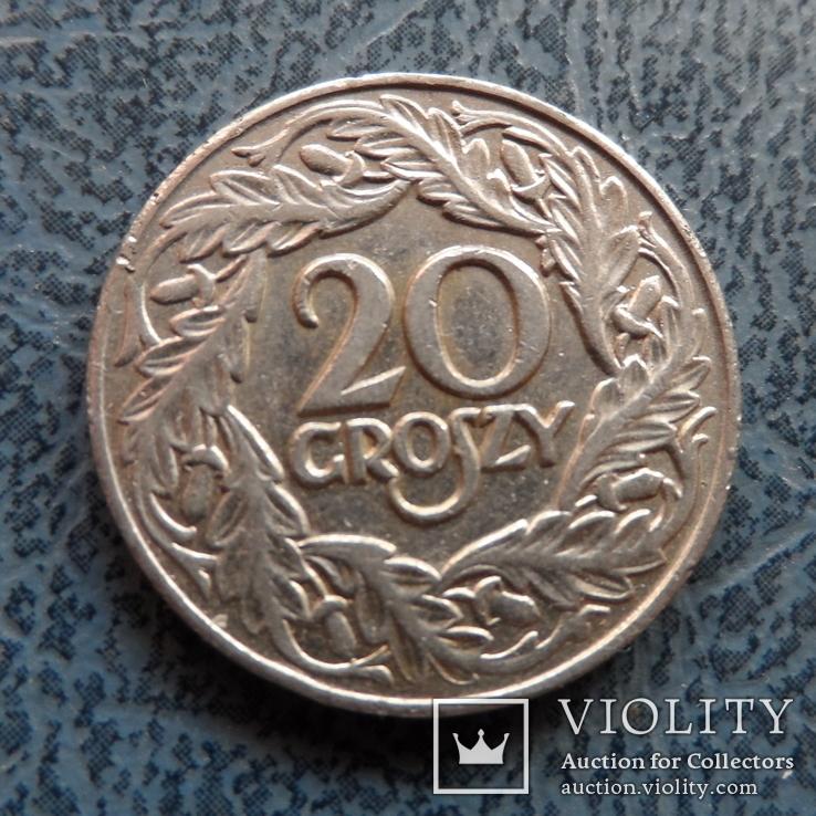 20 грош 1923  Польша   (,9.3.4)~, фото №2