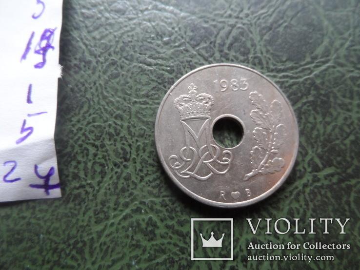 25 эре  1983  Дания   ($1.5.27)~, фото №4