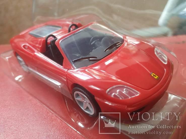 Модель Ferrari 360 Spider 1:38 (офіційний продукт), фото №3