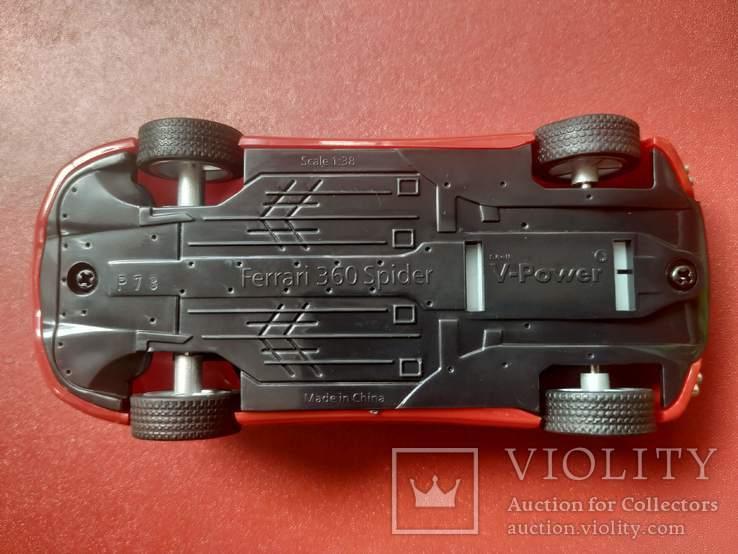 Модель Ferrari 360 Spider 1:38 (офіційний продукт), фото №4