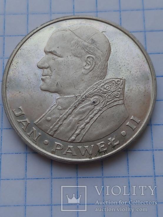 1000 злотых 1982 год серебро, фото №4