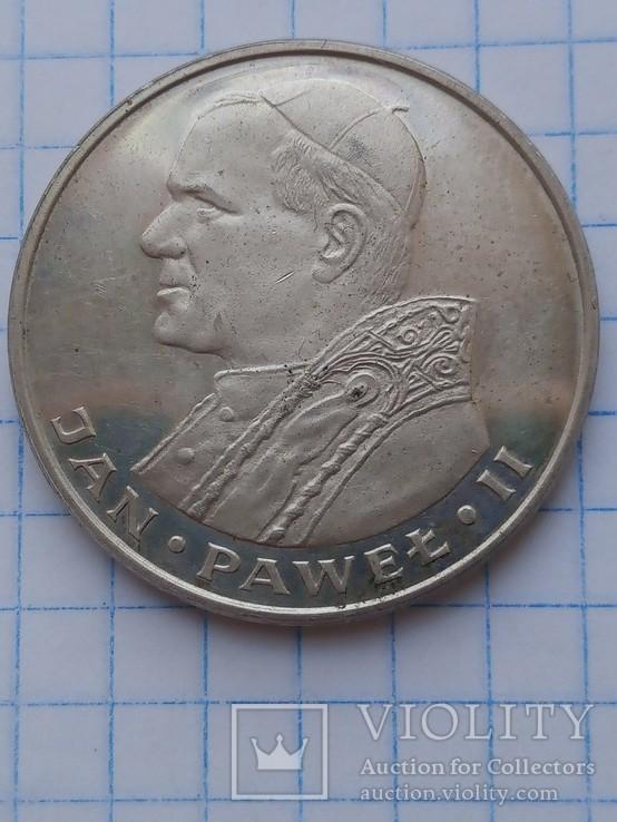 1000 злотых 1982 год серебро, фото №7