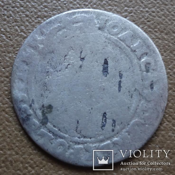 6 грош шестак 1666 серебро (П.4.7), фото №3