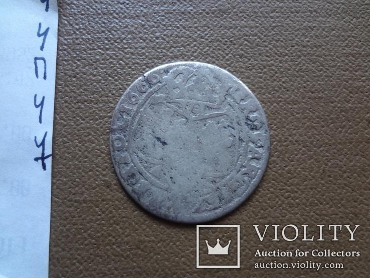 6 грош шестак 1666 серебро (П.4.7), фото №5