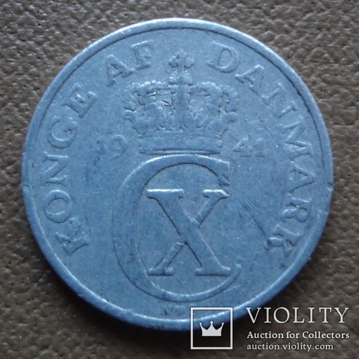 2 эре 1941 Дания    (П.4.29), фото №3