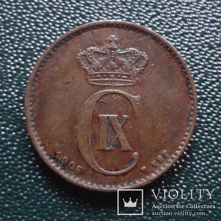 2 эре 1906    Дания    (,10.1.27)~, фото №3