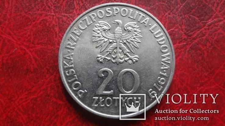 20  злотых  1979  Польша   ($7.3.7)~, фото №3