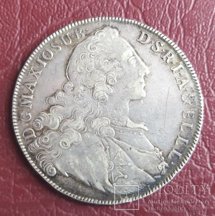 Талер Бавария 1764 год, фото №7
