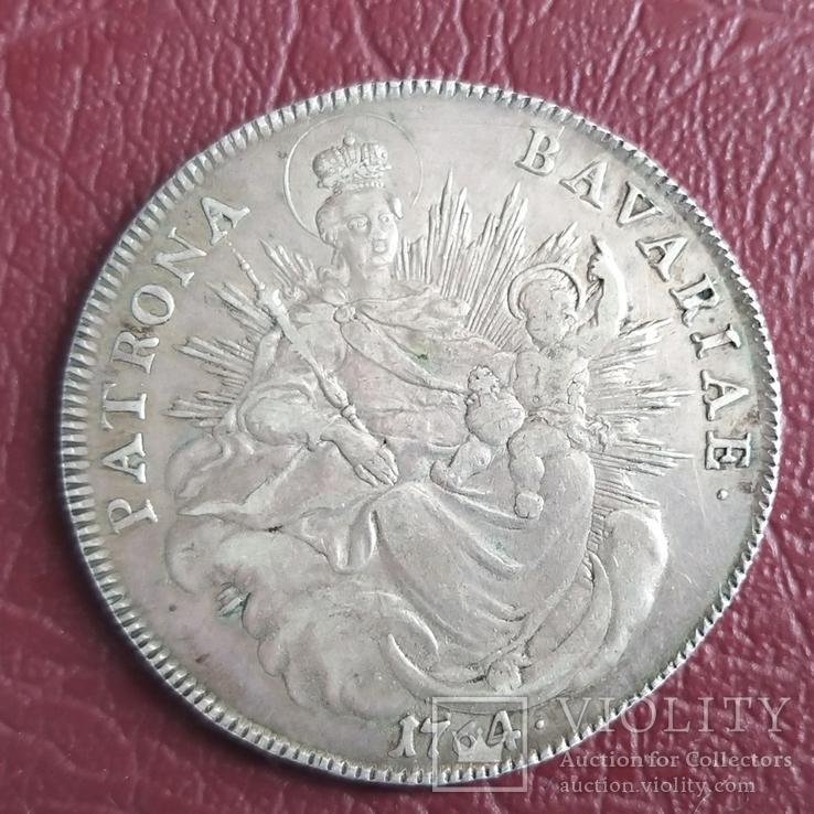 Талер Бавария 1764 год, фото №10