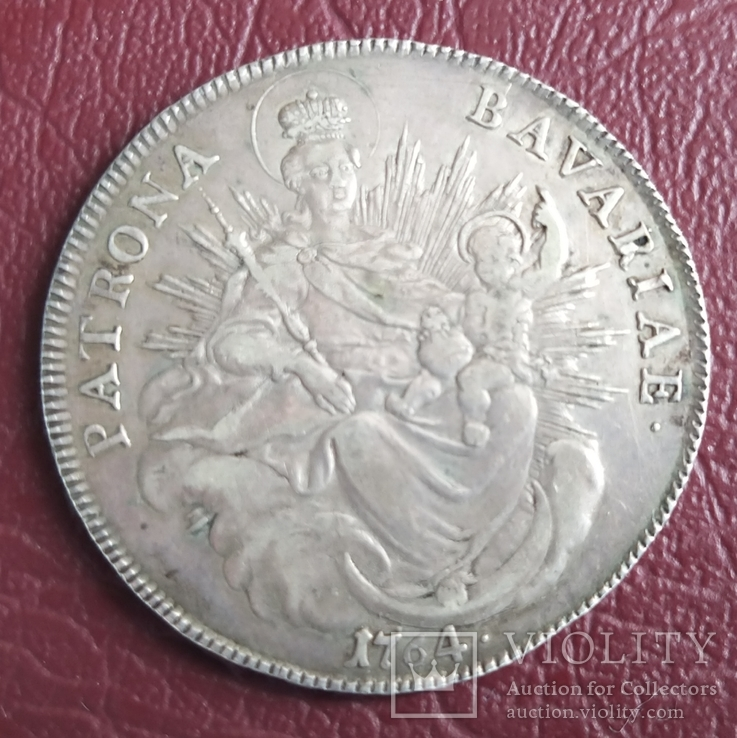 Талер Бавария 1764 год, фото №11
