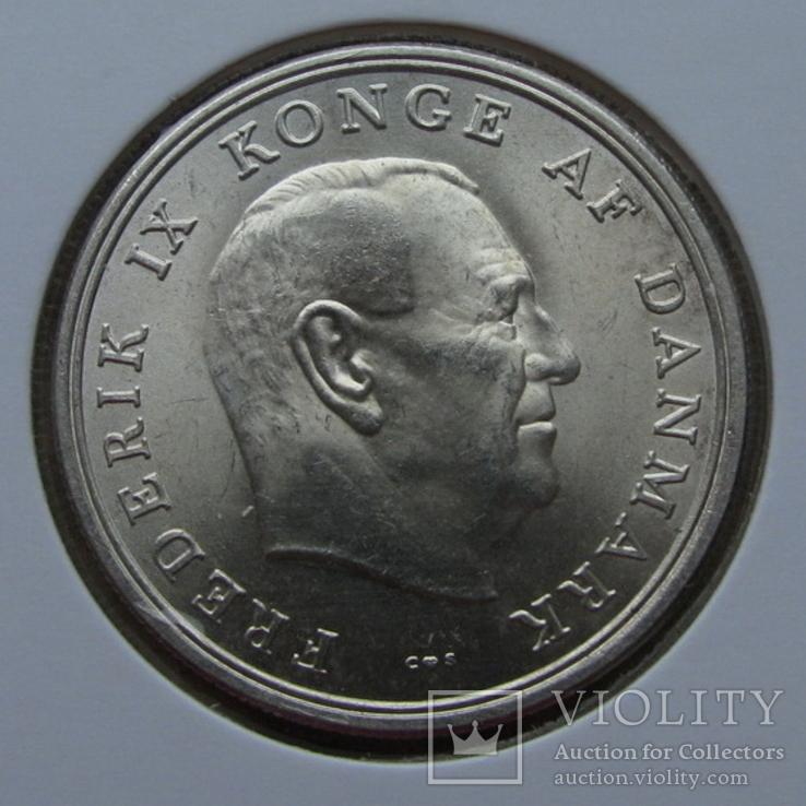 5 крон 1964 г. Дания (серебро) aUNC, фото №3