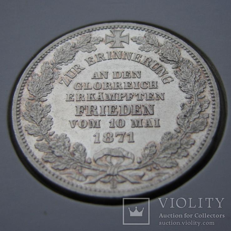 Талер 1871. Бремен., фото №2