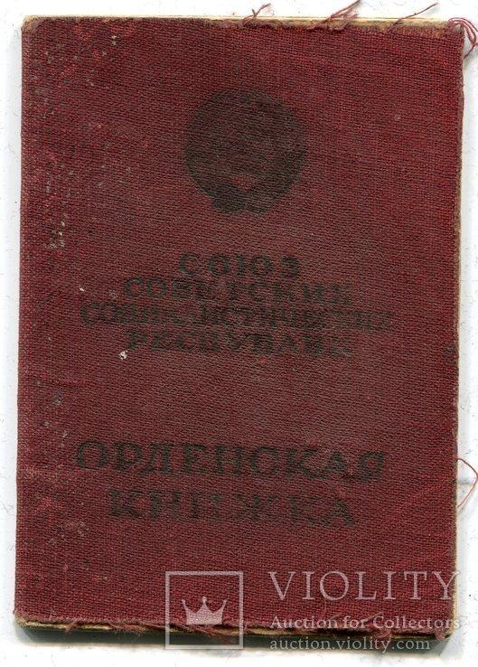 Копия - Орденская книжка  - Мытая. - Копия., фото №2