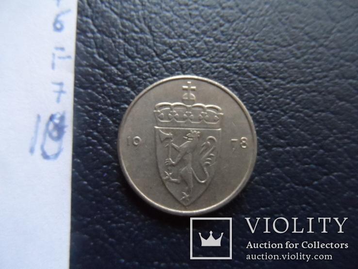 50 эре 1978  Норвегия  ( ,F.7.10)~, фото №4