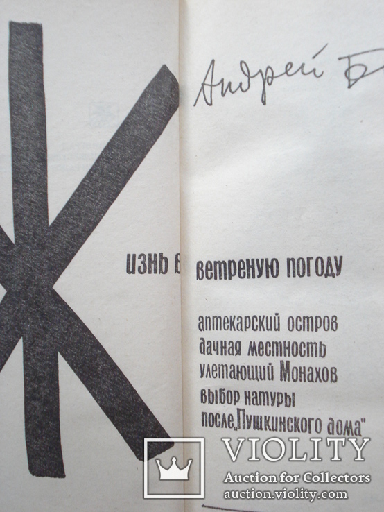 """Битов Андрей Георгиевич """"Жизнь в ветреную погоду"""", фото №3"""