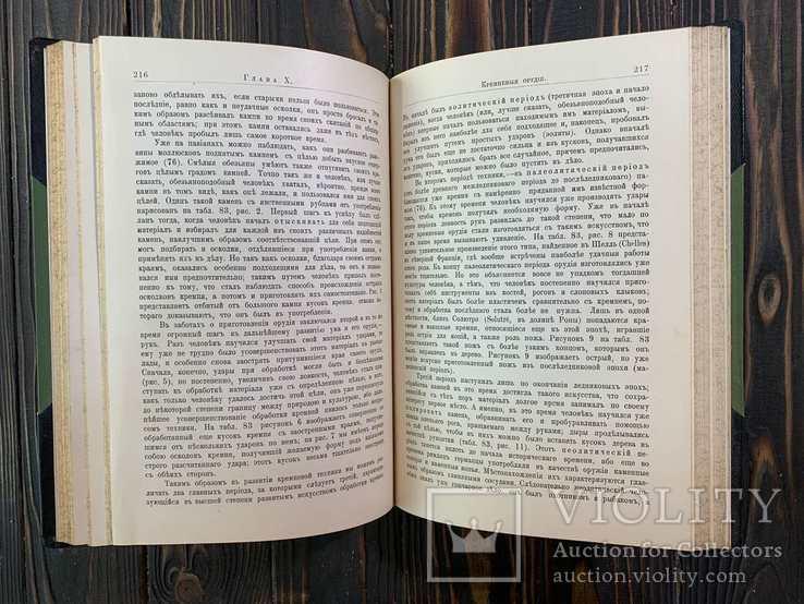 1909 Гюнтер, К. Происхождение и развитие человека, фото №5