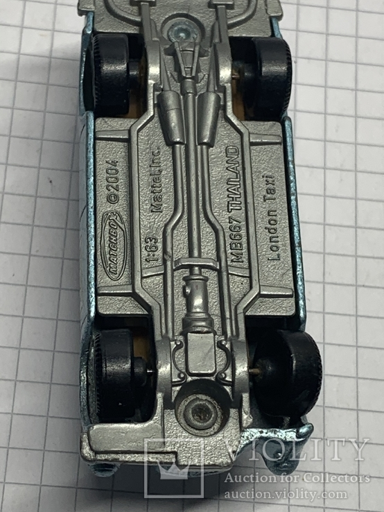 2004 Mattel Inc 1:63   London Taxi, фото №6