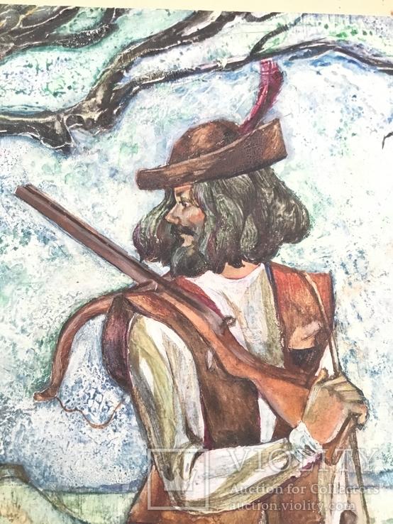 Жанрові цена охота і рибалка., фото №3