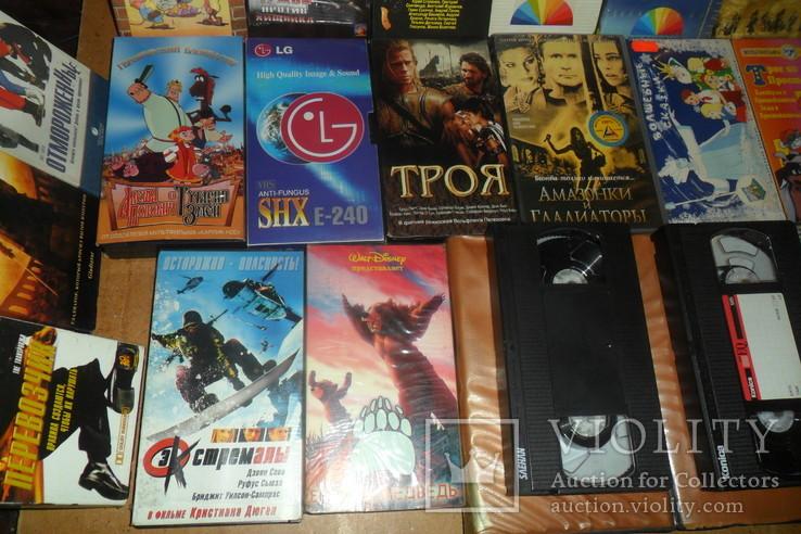 Видеокассета 38 штук Мультфильмы,комедии и др., фото №4