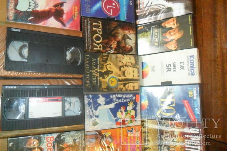 Видеокассета 38 штук Мультфильмы,комедии и др., фото №5