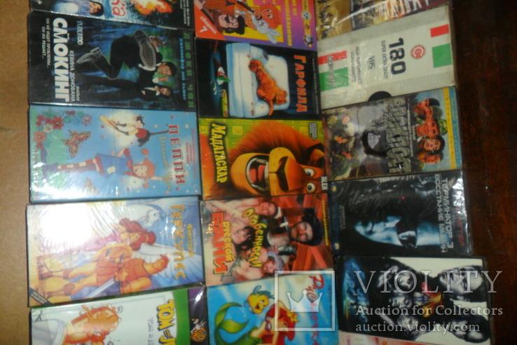 Видеокассета 38 штук Мультфильмы,комедии и др., фото №7