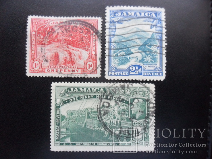 Британские колонии.  Ямайка.  подборка  гаш