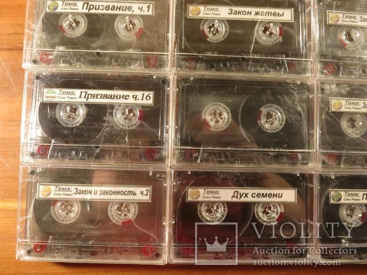 Аудиокассеты импортные б.у 25 шт. с молитвами, фото №9