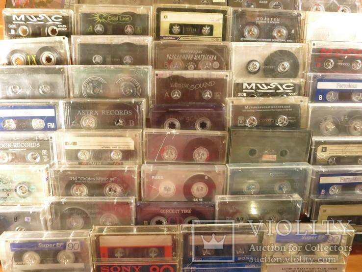 Аудиокассеты импортные б.у разные в лоте 44 штуки, фото №12