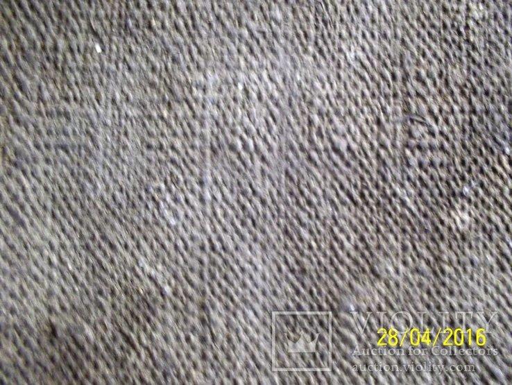 Святі Миколай і Варвара/картина 18 ст./темпера/домоткане полотно. Поділля, фото №6