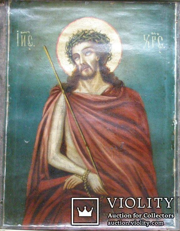 Икона Иисус -  55 см. х 70 см., фото №2