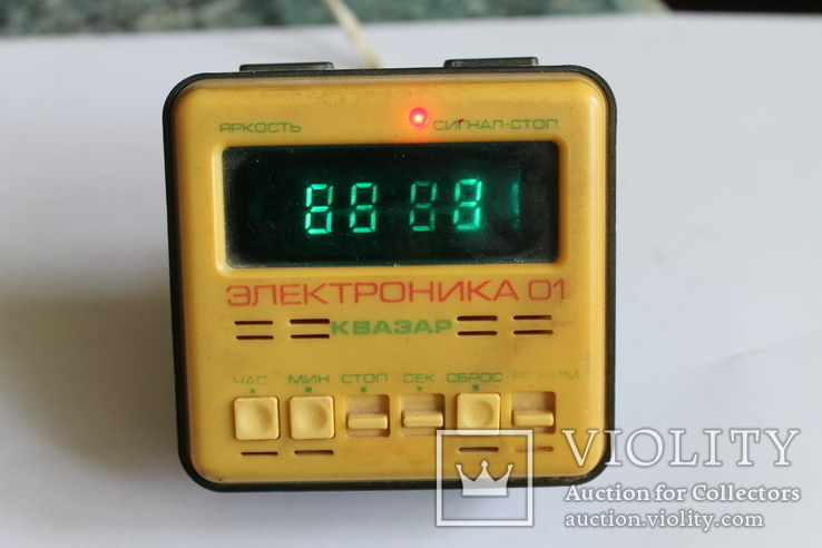 Часы Электроника 01 Квазар из СССР, фото №2